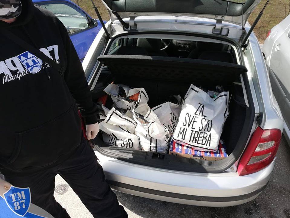 Manijaci realizovali humanitarnu akciju pomoći ugroženim građanima ...