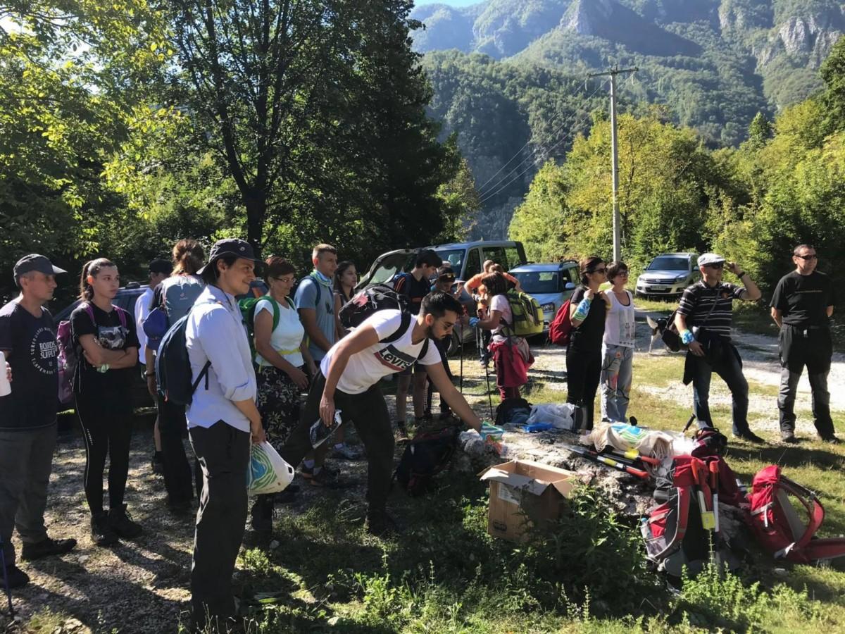 Foto: UNDP/ Volonteri čistili Čvrsnicu
